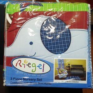Riegel 3-pc Nursery Set--NWOT